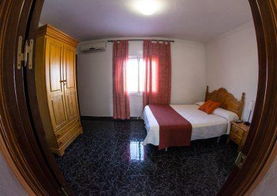 Dormitorio Apartamento Hostal Caminito del Rey