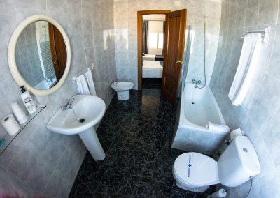 Baño Apartamento Hostal Caminito del Rey